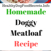 Doggy Meatloaf Recipe